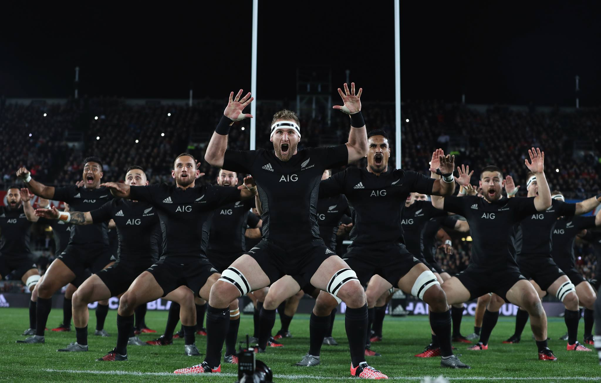 All Black Haka - AIG