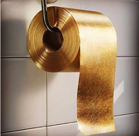 22-karat Gold Toilet Paper